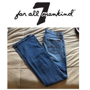 7 for All Mankind Bootcut Jeans - Medium Wash